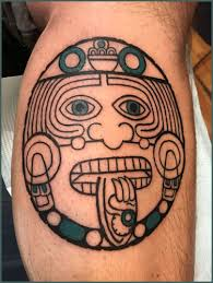aztec designs mayan tattoos