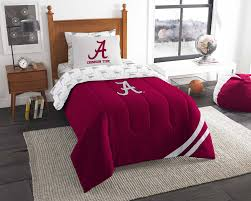 Alabama Bed Set 5pc Ncaa Alabama Crimson Tide Bedding Set Obedding