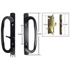Patio Door Handle Lock Sliding Glass Patio Door Handle Kit With Mortise Lock And Keepers