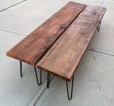Famous Coffee Table Bench Benches As Coffee Tables Awesome Mid Century Modern Bench