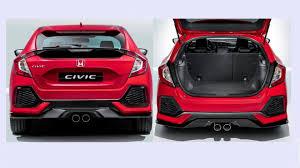 Honda Civic India Interior Honda Civic Hatchback 2016 Details Will It Launch In India