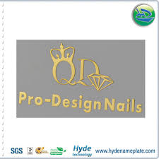 nickel electroforming thin silver gold copper nickel electroforming foil 2d logo metal