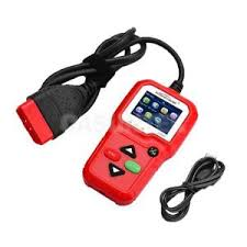 check engine light tool kw680 obdii red car engine fault code reader scan check engine light
