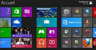 bureau windows 7 sur windows 8 organiser les tuiles de l écran d accueil windows 8 en catégories