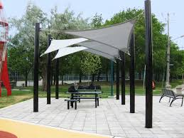 Backyard Shade Canopy by Backyard Patio Ideas Patio Shade Beautiful Sail Cloth Patio