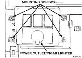 jeep wrangler cigarette lighter wiring wiring diagram simonand