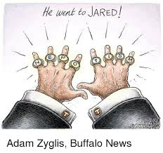 he went to jared e ap adam zyglis buffalo news meme on esmemes com