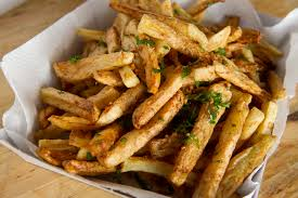 ballpark style garlic fries recipe food republic