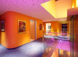 Modernhomeinteriordesignwithcolorfulledlighting - Home interior lighting