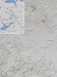 Kavik Alaska Map by Satellite Image Reveals Ice Road Trucking Lanes In Canada Gif