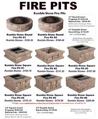 Outdoor Stone Firepits by Fire Pits Littleton Colorado Santa Fe Sand And Gravel