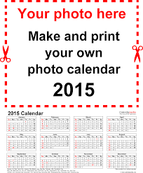 printable calendar year on one page photo calendar 2015 free printable pdf templates