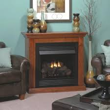 Thermostat For Gas Fireplace by Vail 26 Inch Special Edition Vent Free Gas Fireplace With Nutmeg