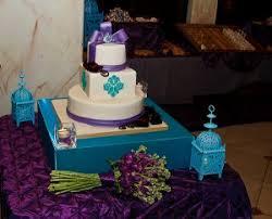 rubina u0027s cake shoppe blog archive purple and turquoise wedding