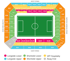 Chelsea Map Chelsea Tickets Buy Chelsea Fc Tickets Football Ticket Pad