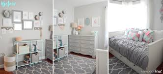 modern girls bedroom modern rustic glam shared girls bedroom orc the reveal