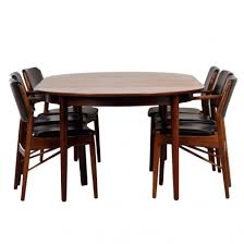danish dining room set dining chairs danish rosewood dining set by for sale at room