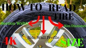 jeep tire size chart how to read tire size tire sizes specs explained 4k youtube