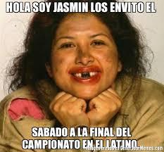 Jasmin Meme - hola soy jasmin los envito el sabado a la final del cionato en