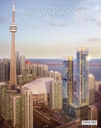 concord canada house condos price u0026 floorplans spadina toronto