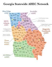 Map Atlanta Ga by Regional Map