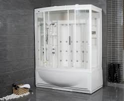 avitus steam shower with whirlpool bathtub