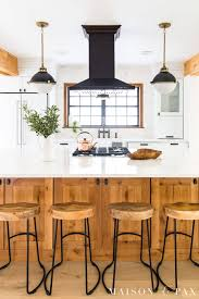 modern country kitchen with oak cabinets rustic modern kitchen cabinets maison de pax
