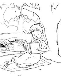 alice wonderland coloring