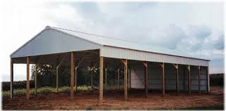 How To Build A Wood Floor With Pole Barn Construction by Amish Constructed Pole Buildings Types Of Pole Buildings