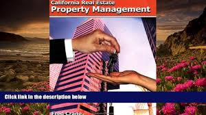 read book california real estate property management fred crane