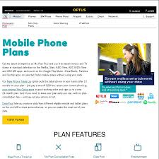 Mobile Plans by 100gb Optus Mobile Plan Phone 120 Per Month Family U0026 Friends