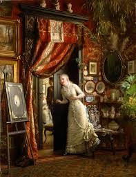 Romantic Decor And More Romantic Scenes Ii Paintings Victorian And Art Interiors