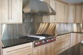 metal backsplash kitchen metal kitchen backsplash cabinet backsplash