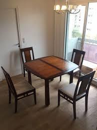 chaise coloniale achetez table extensible et occasion annonce vente à 75