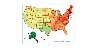 heat map us states us geographic state heat map excel template v1