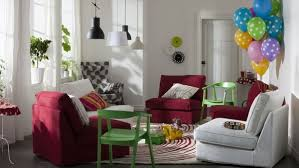 Red Sofas In Living Room 15 Beautiful Ikea Living Room Ideas Hative