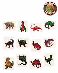 kids dinosaur temporary tattoos dinosaur corporation