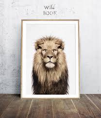 lion print lion wall art roselawnlutheran