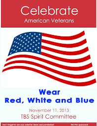 Blue White Red White Blue Flag Wear Red White U0026 Blue Thompson Brook Pto