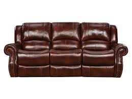 Leather Reclining Sofa Loveseat by Corinthian Alexander Alexander Leather Reclining Sofa Great