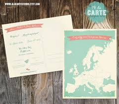 bilingual wedding save the date card place name cards