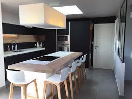 cuisine plus henin beaumont cuisine noir mat et bois cuisine noir mat et bois luxe images
