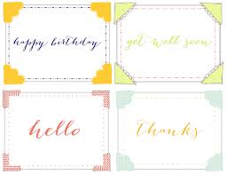 printable note cards real housemoms