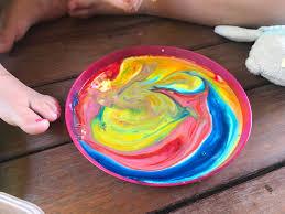 magic rainbow milk experiment u2013 my family quit sugar