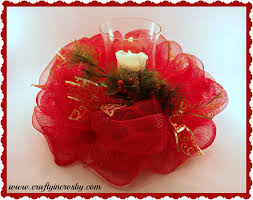 deco mesh centerpiece could do in for any holiday holidays
