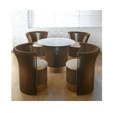 table ronde et chaises table ronde avec chaises table manger extensible maison boncolac
