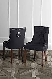chaise pour salle manger vidaxl 2 chaises pour salle à manger polyester crème chaises de