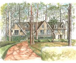 artist house pen u0026 ink drawings properties custom map art by melissa smith