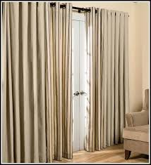 patio door traverse curtain rod curtains home design ideas