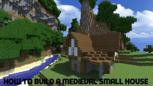 How To Build A Small House Minecraft Tutorial How To Build A Medieval Small House Youtube
